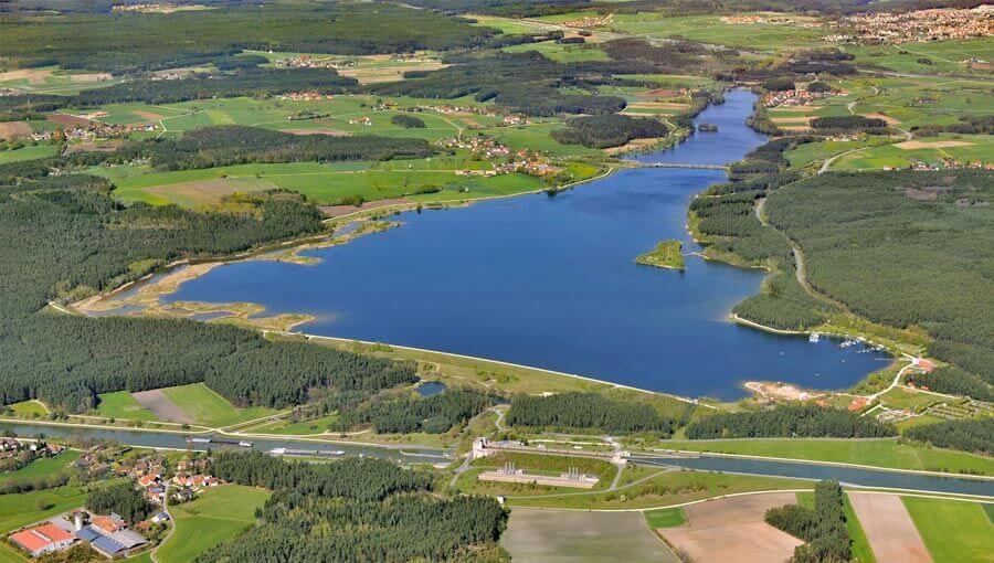 Das Fränkische Seenland