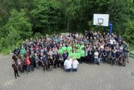 Gruppenbild mit allen 217 Teilnehmern