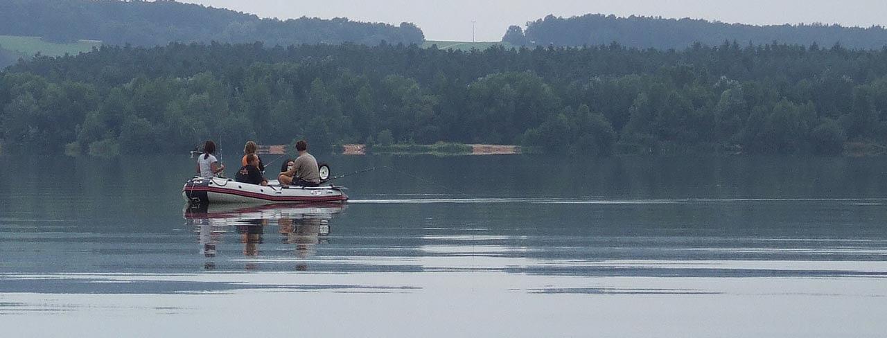 Angeln mit dem Boot