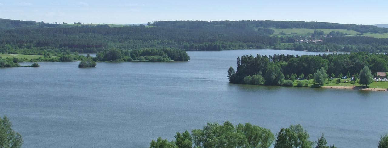 Das Fränkische Seenland-Der kleine Brombachsee
