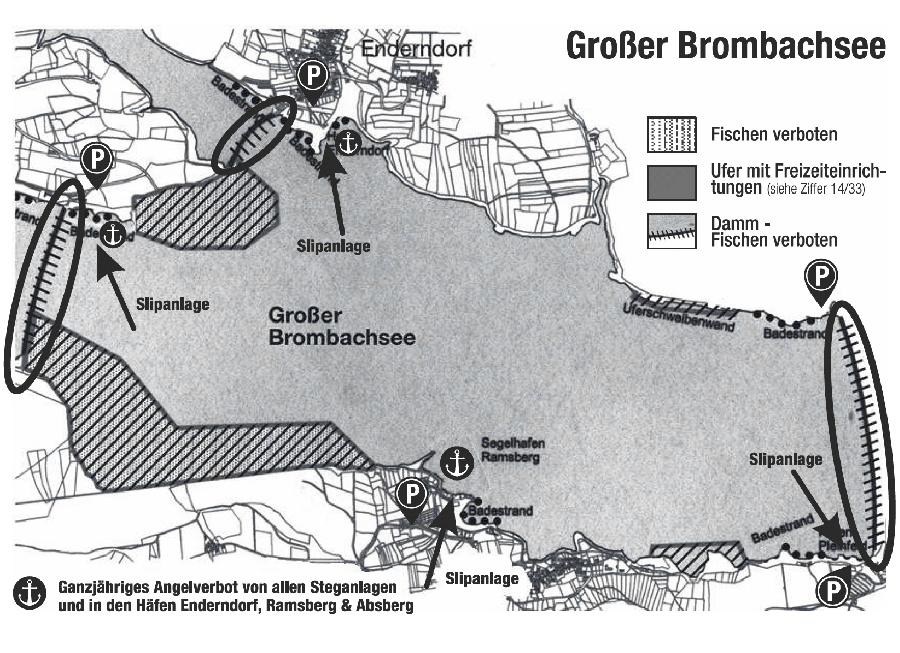 Der Große Brombachsee